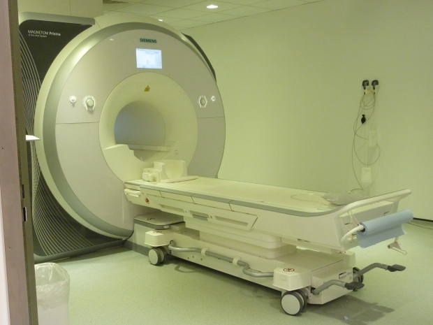 Our (empty) MRI scanner!